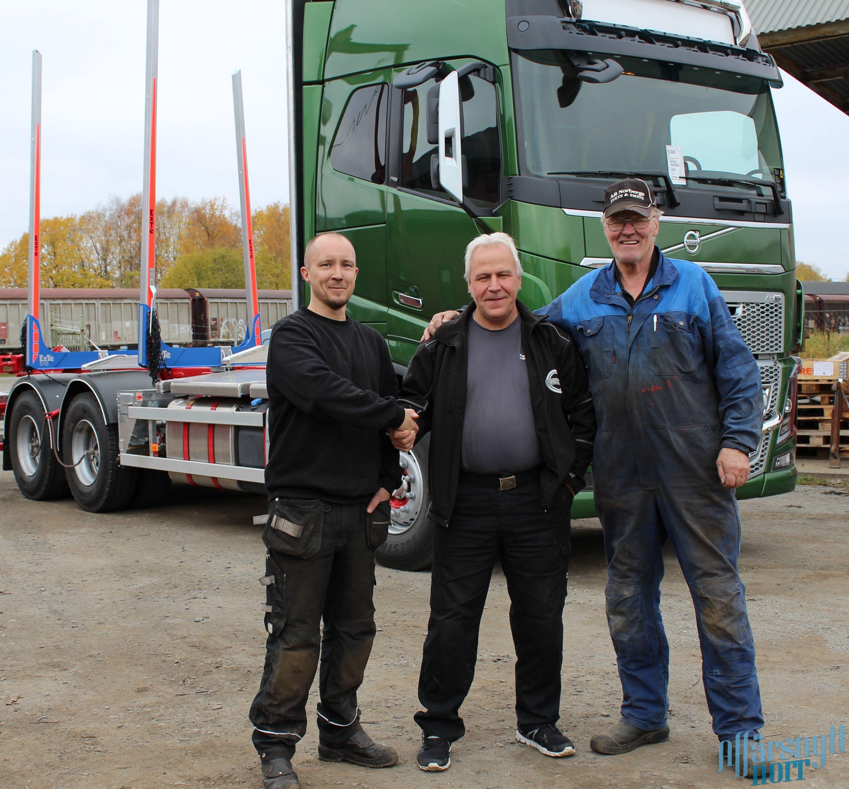 Fr v Daniel Norberg, Thomas Näsström och Arnold Norberg.