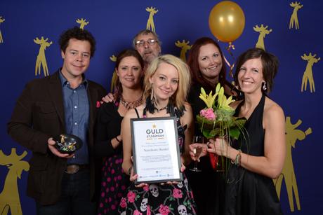 Foto: Gerd Sjöberg. På bild: Norråkers Handel som blev vinnare på Guldälggalan 2016 som Årets serviceföretag i Strömsunds kommun.