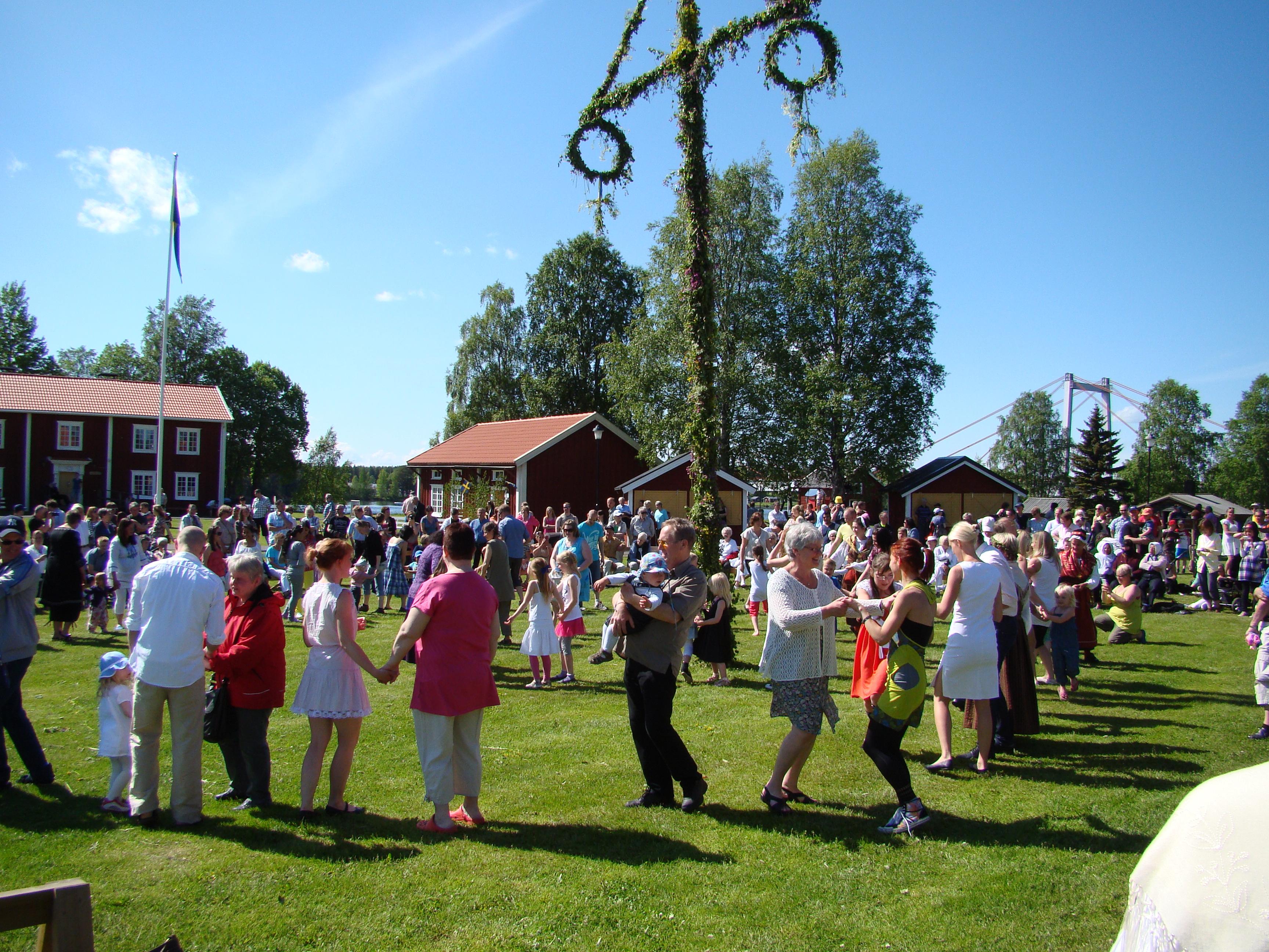 Arkivbild från  vackra Hembygdsgården.