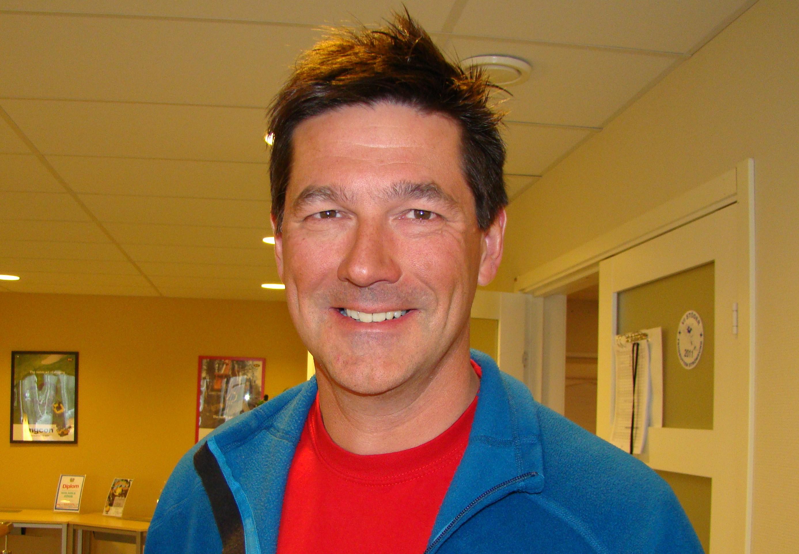 Stig Engström, mannen bakom framgångarna.
