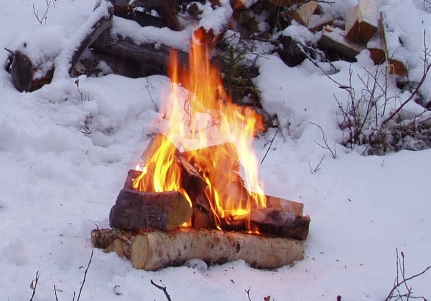 Laga mat över öppen eld när EOns elproduktion felar.
