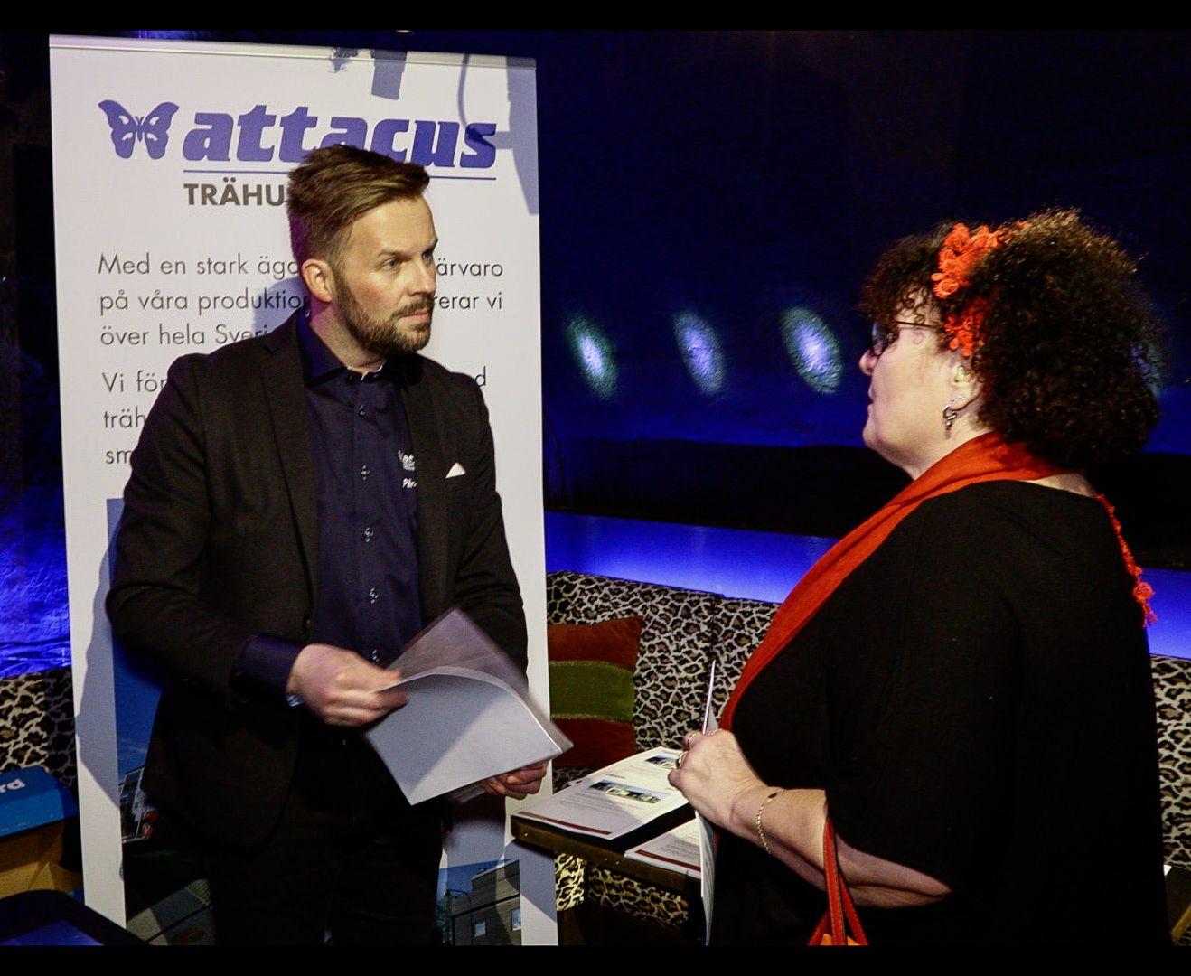 Per Magnus på Attacus fick en pratstund med Karin Wöjer