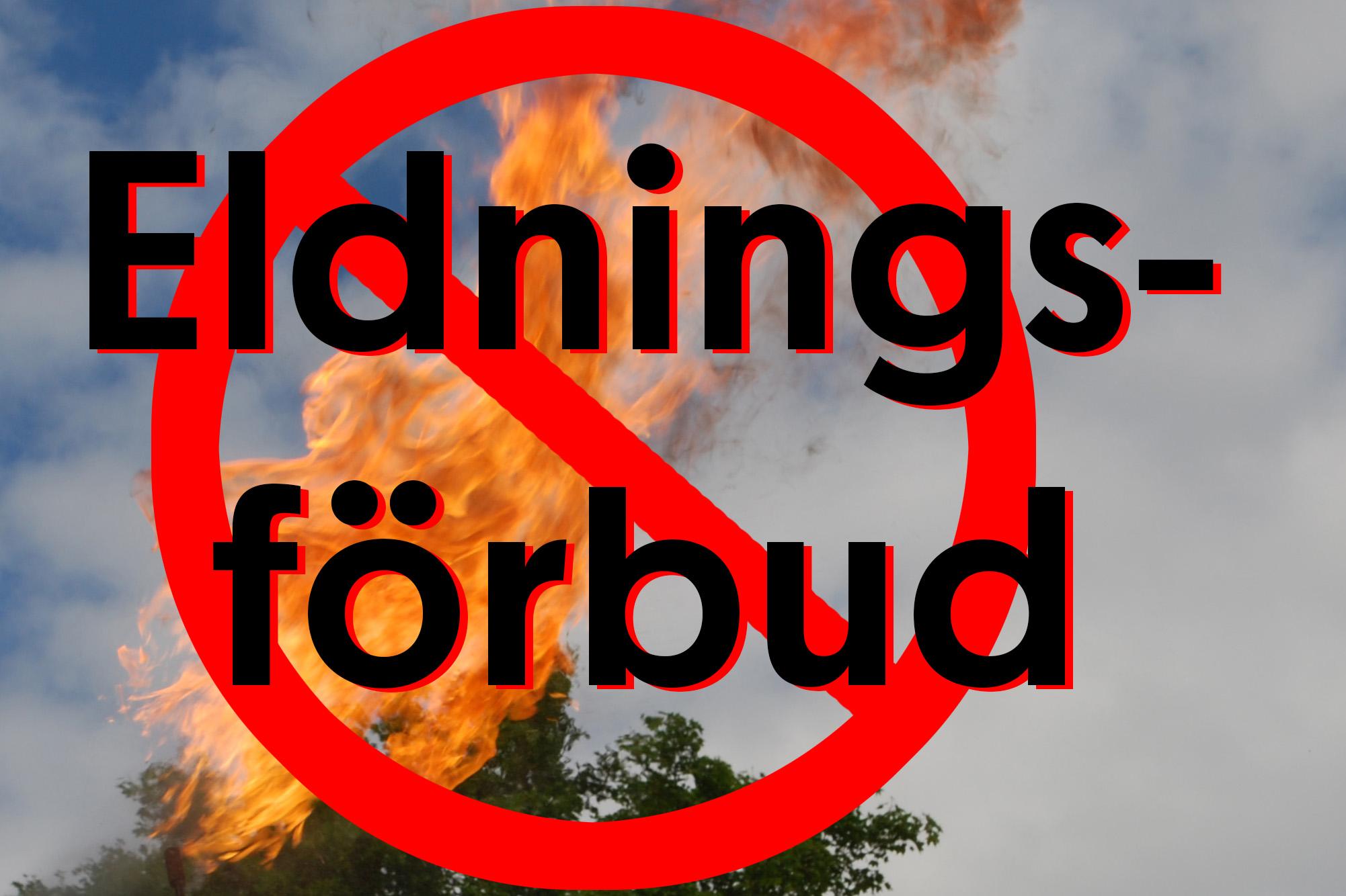 eldningsforbud